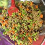 Quinoa Salad with Edamame and Cranberry