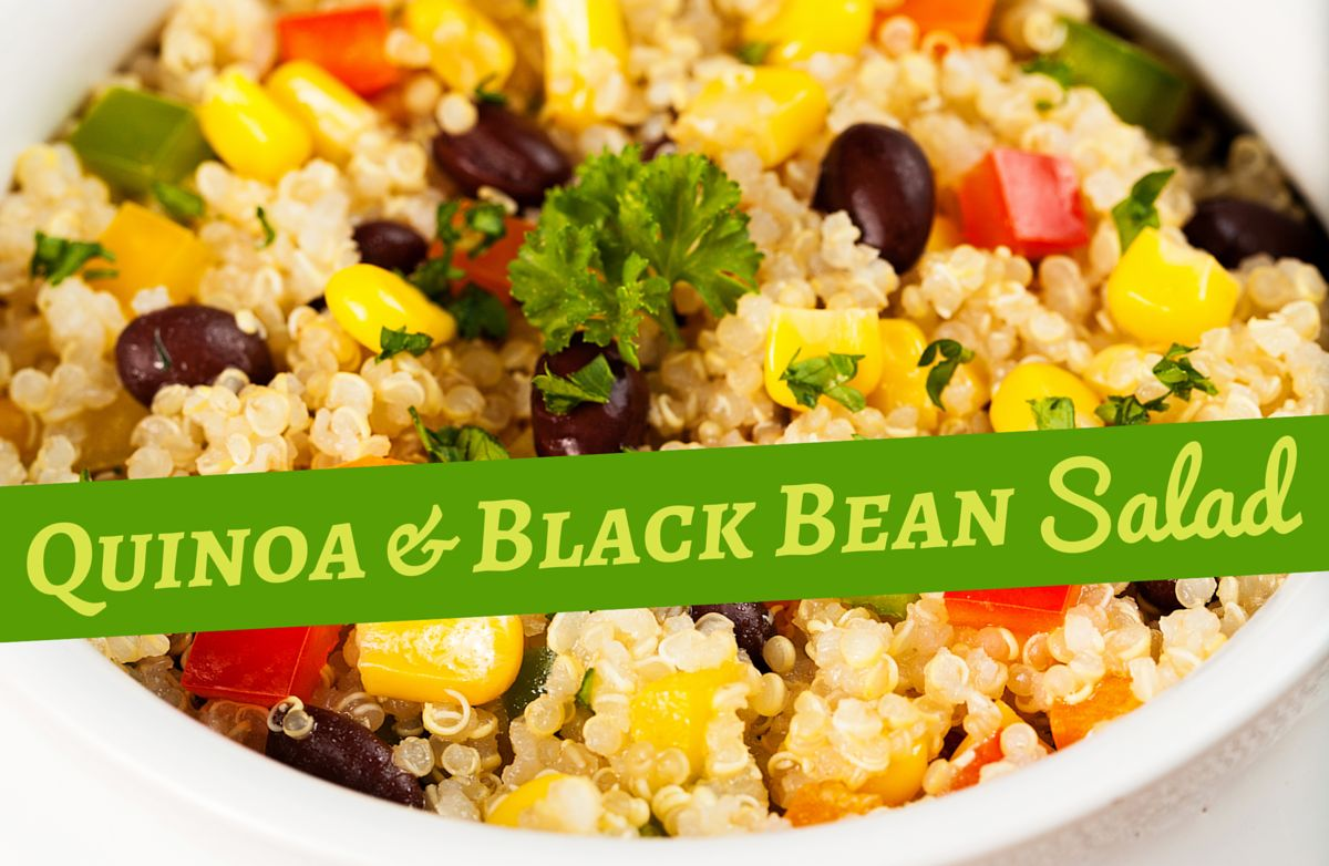 Quinoa and Black Bean Salad RECIPE