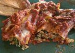 RAAs Turkey and Spinach Manicotti