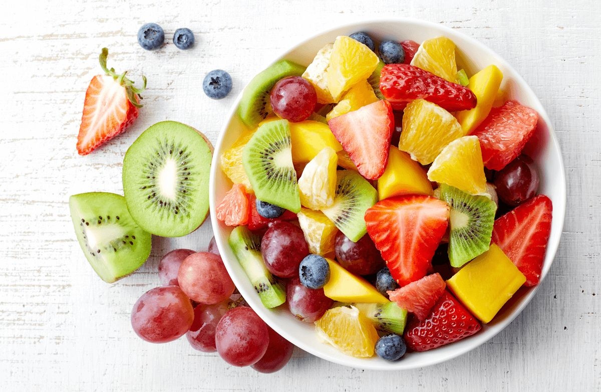 pictures of healthy fruits and vegetables healthy fruit salad with yogurt recipe