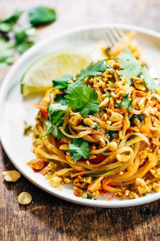 Rainbow Vegetarian Pad Thai