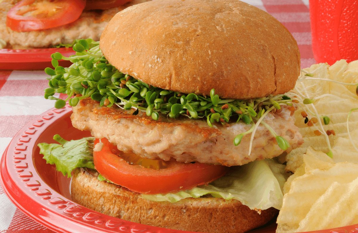 Ranch Cheddar Turkey Burgers