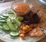 Ranchero-ish  Sauce (LCHF; 2 net carbs/quarter cup)