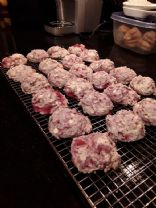 Raspberry White Chocolate Cookie Bites