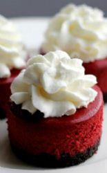 Red Velvet Mini Cheesecake