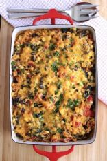 Rice & Black Bean Casserole w/lots of veggies
