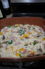 Risotto with Butternut Squash and Chicken Apple Sausage