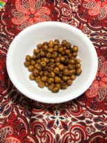 Roasted Chick Peas with Syrian Spice