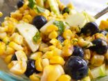 Salad: Roasted Corn, Blueberry, and Cucumber Salad