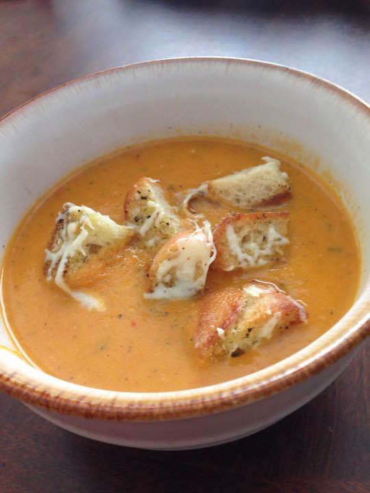 Roasted Red Peper Tomato Soup Recipe Sparkrecipes