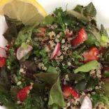 Romaine, Kale and Quinoa Salad