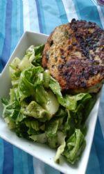 Romaine, tomatoe, heart artichoke salad