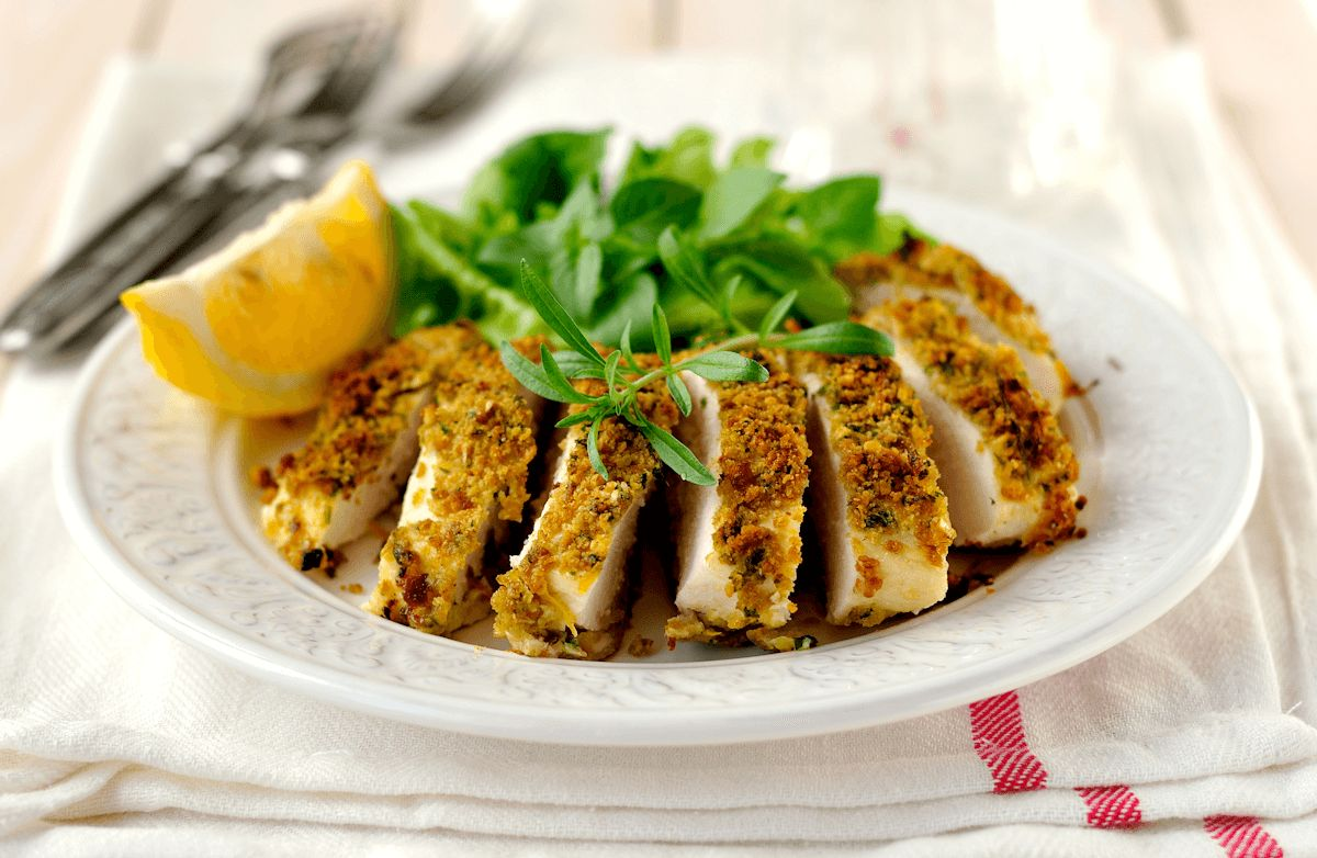 Rosemary-Encrusted Chicken Breast