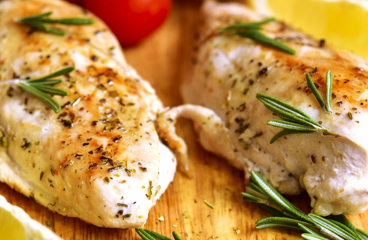Rosemary and Olive Oil Slow Cooker Chicken