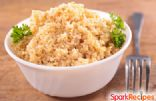 SIMPLE GARLIC QUINOA