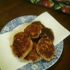 Salmon Patties with Pork Rind filler
