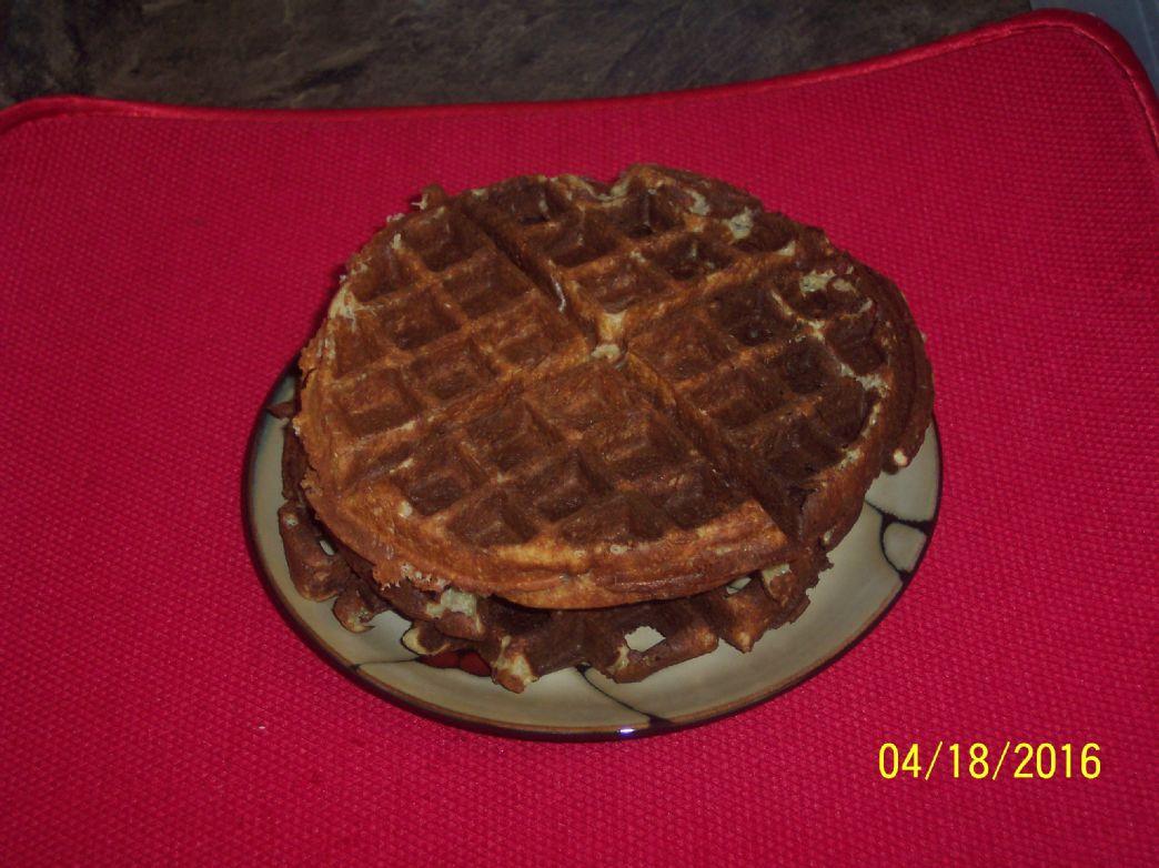 Sane Paleo Gluten-Free Protein Waffles