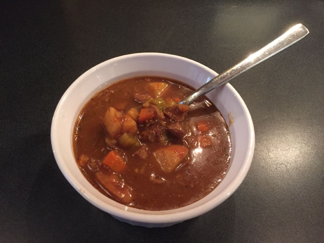 Sanna Bee's Leftover Steak Stew (Gluten Free and Low Fat)