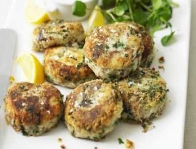 Sardine Fishcakes