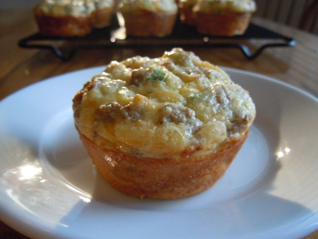 Sausage & Cheese Egg Muffins