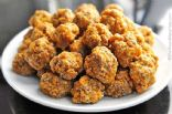Sausage Balls with Cheese