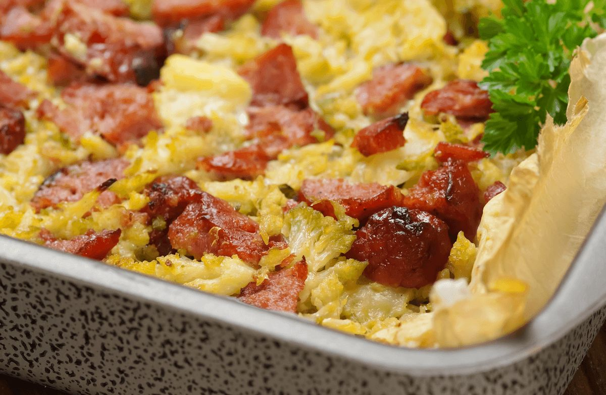 Sausage Egg Casserole (Low Carb)