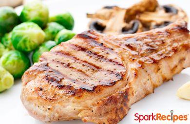 Savory Grilled Pork Chops