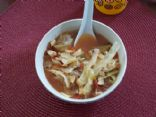 Savory Italian Chicken & Cabbage Soup