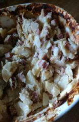 Scalloped potatoes and ham, betty crocker