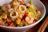 Seafood Mix and Vegetable Stir Fry