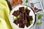Shakeology Double Chocolate No-Bake Vegan Brownie balls