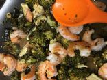 Shrimp Stir Fry with Honey Garlic Sauce