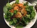 Shrimp with Riced broccoli
