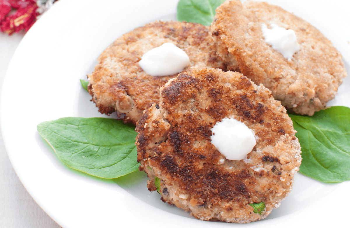 Simple Salmon Patties Recipe Sparkrecipes