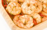 Simple Spicy Garlic Shrimp