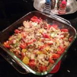 Skinny Stuffed Pepper Casserole