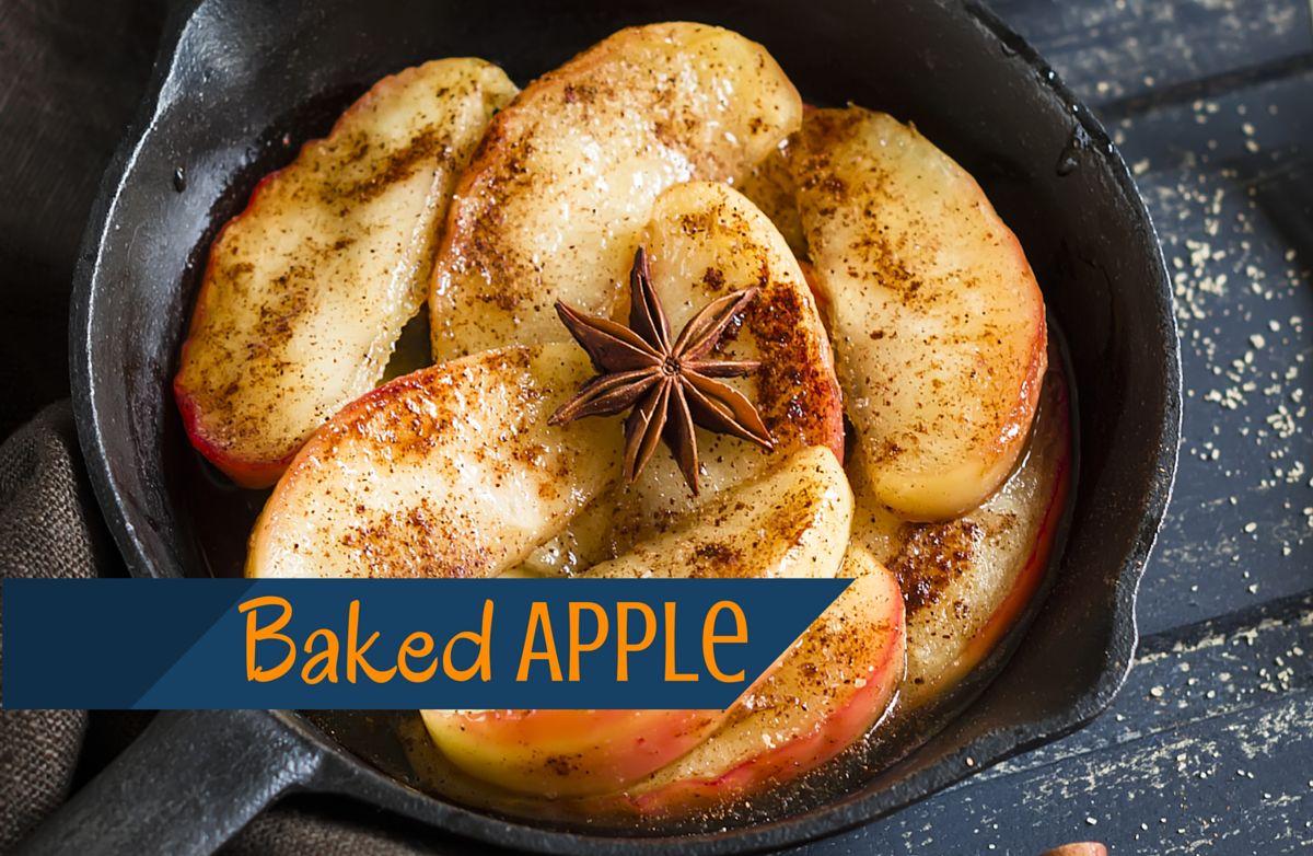 Sliced Baked Apple