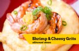 Slimmed Down Shrimp and Cheesy Grits