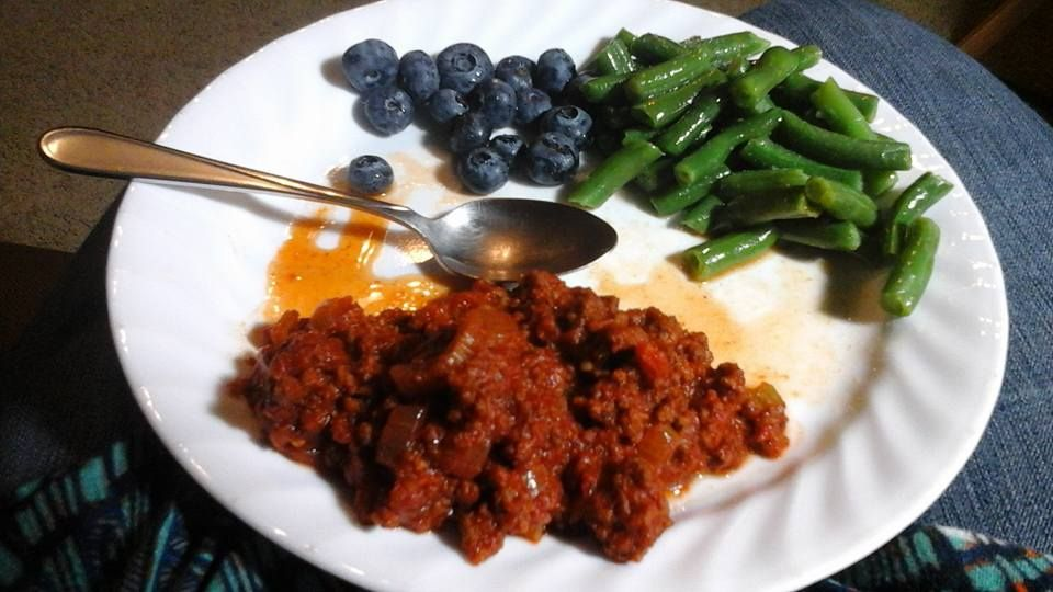 Sloppy Joe - Healthified - Low Carb