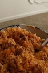 Sloppy joe rice