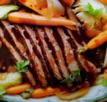 Slow Cooker Brisket & Veggies (CL adapted recipe)