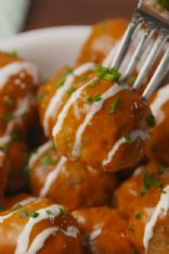 Slow-Cooker Buffalo Chicken Meatballs