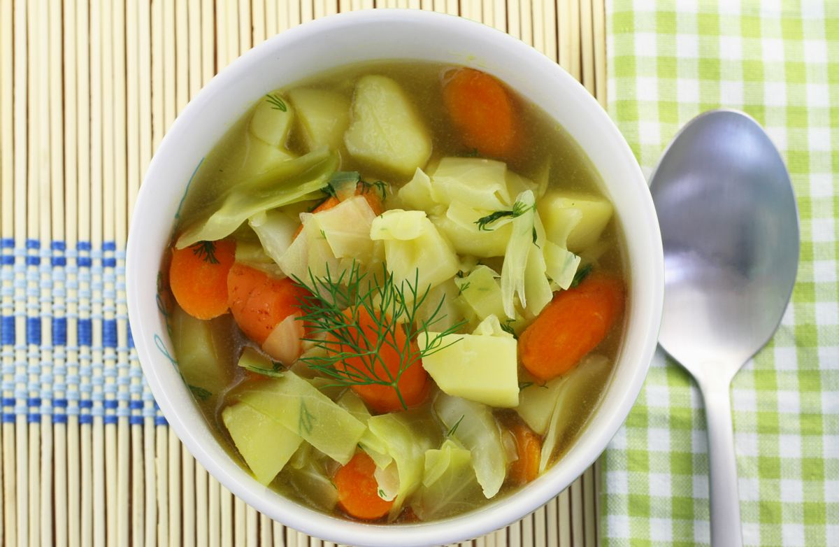 Slow Cooker Cabbage & Potatoes