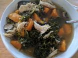 Slow Cooker Chicken, Kale and Sweet Potato Stew