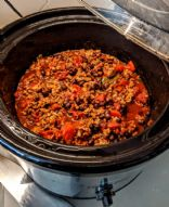 Slow Cooker Turkey Chili with Black Beans