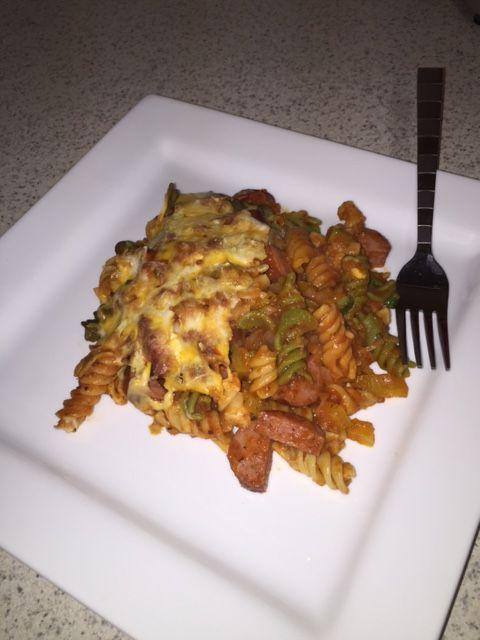 Smoked Sausage & Veggie Pasta