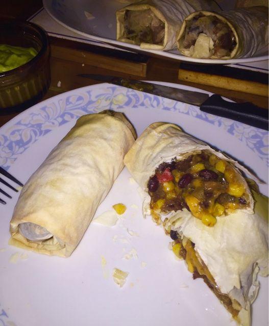 Southwest egg rolls (phyllo)