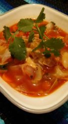 Spicy Cabbage Soup Ole