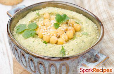 Spicy Cilantro Hummus