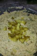 Spicy Dill Pickle Hummus